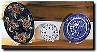 Several plates on a mantle